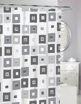 Moda Geo Print Shower Curtain