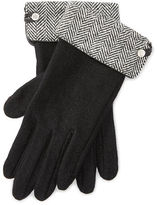 Ralph Lauren Herringbone Wool-Blend Gloves
