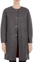 Gerard Darel Galia Reversible Wool Coat