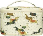 Paul & Joe Horse-print cosmetic pouch