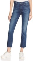 Mother The Insider Crop Jeans in Twilight Magic