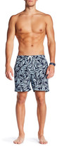 Trunks San O Magnolia Leaves Swim Trunk