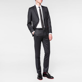 Paul Smith Men's Tailored-Fit Charcoal Grey Wool Suit