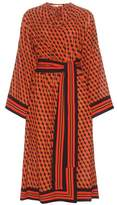 Michael Kors Printed silk dress