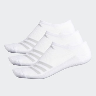 adidas Climacool Superlite Stripe No-Show Socks 3 Pairs