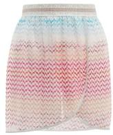 Missoni Mare - Zigzag-knitted Mini Wrap Skirt - Womens - Multi