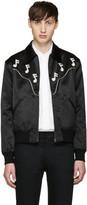 Saint Laurent Black Music Note Western Jacket
