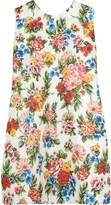 Emilia Wickstead Presley floral-print gazar mini dress