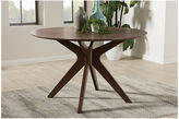 Asstd National Brand Baxton Studio Monte Round Wood-Top Dining Table