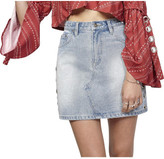 MinkPink Eye Spy A-Line Mini Skirt