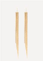 Bebe Dramatic Duster Earrings