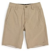 O'Neill Boy's Locked Stripe Hybrid Board Shorts