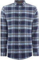 Linea Balmoral Herringbone Check Shirt
