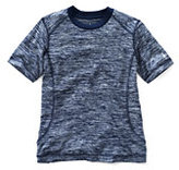 Classic Little Boys Space Dye Active Tee-Ocean Wave Space Dye