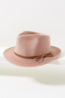 Anthropologie Beatrice Fedora By in Beige Size ALL