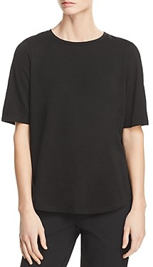 Eileen Fisher Petites Eileen Fisher System Petite Organic Cotton Tee