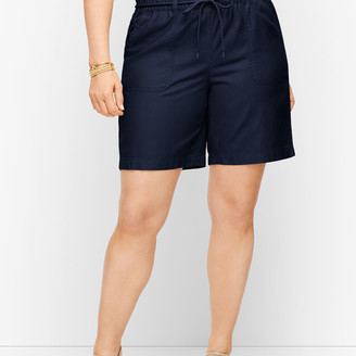 Talbots Summer Twill Pull-On Shorts - 6""