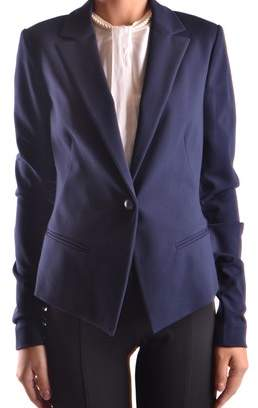 Pinko Women's Blue Viscose Blazer.
