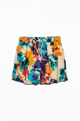 Urban Outfitters Mixed Splatter Print Swim Short