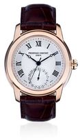 Frederique Constant Classics Manufacture Watch With Rose Gold