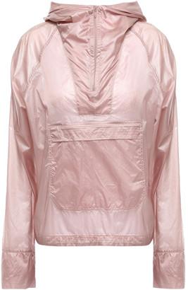 Monreal London Checked Shell Hooded Jacket