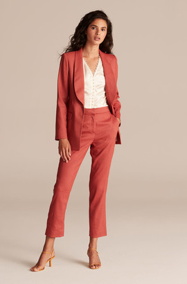 Rebecca Taylor Tailored Linen Suit Pant