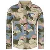 Zadig & Voltaire Zadig & VoltaireGirls Camouflage Print Shirt