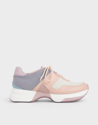 Charles & Keith Lace-Up Sneakers