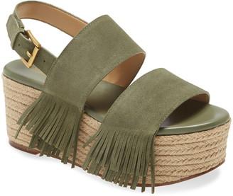 MICHAEL Michael Kors Hana Fringe Platform Sandal