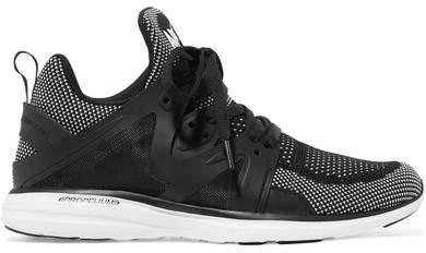 APL Athletic Propulsion Labs Ascend Techloom Mesh Sneakers - Black
