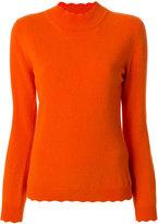 Blumarine - scalloped sweater