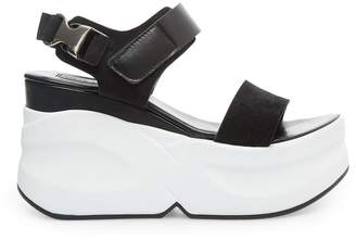 Steve Madden Tidepool Black Leather