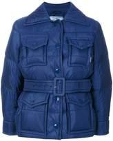 Prada four pocket padded jacket