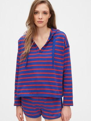 Gap V-Neck Pullover Hoodie