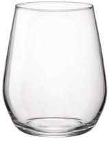 Bormioli Electra 8oz Stemless Wine Glass - Set of 4