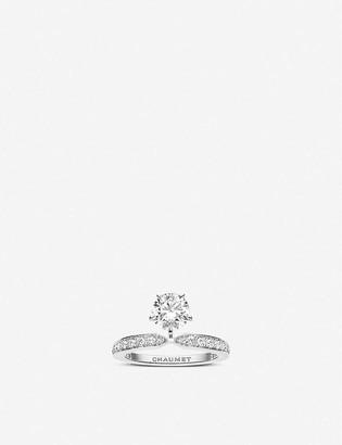Chaumet Joséphine Éclat dÉternité platinum and diamond ring