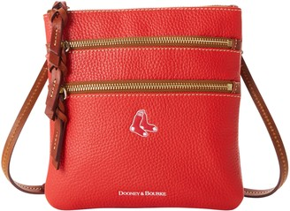 Dooney & Bourke MLB Red Sox N S Triple Zip Crossbody