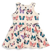 Tea Collection Infant Girl's Locals Only Butterfly Print Tank Dress