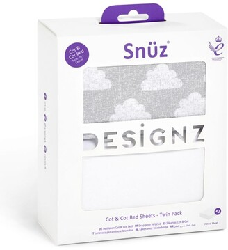 Snüz Snuz Cot Fitted Sheets (Pack of 2)