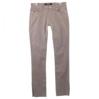 Junya Watanabe Grey Cotton Jeans