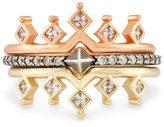 Kendra Scott Lottie Stackable Ring Set in Mixed Metals