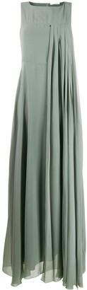 Fabiana Filippi Pleated Chiffon Dress