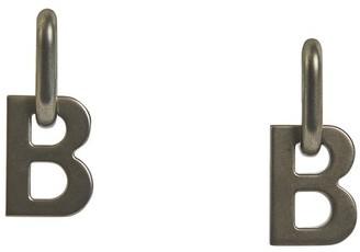 Balenciaga B Chain XL earrings
