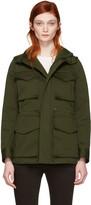 DSQUARED2 Green Kaban Utility Jacket