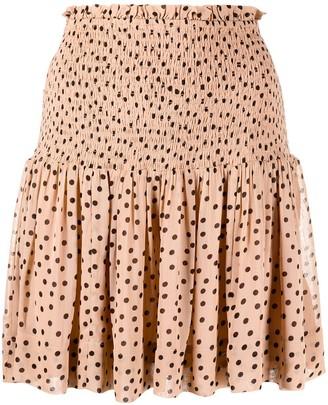 Ganni Polka-Dot Skirt