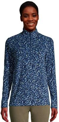 Lands' End Women's 1/4-Zip Fleece Jacket