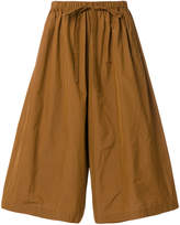 RED Valentino wide leg drawstring cropped trousers