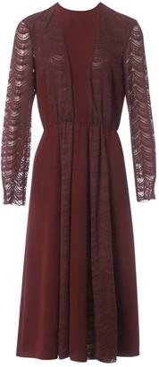 Giamba Burgundy Dress for Women