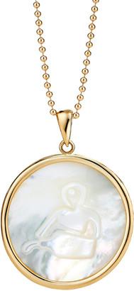 Ashley McCormick Aquarius 18K Gold Necklace