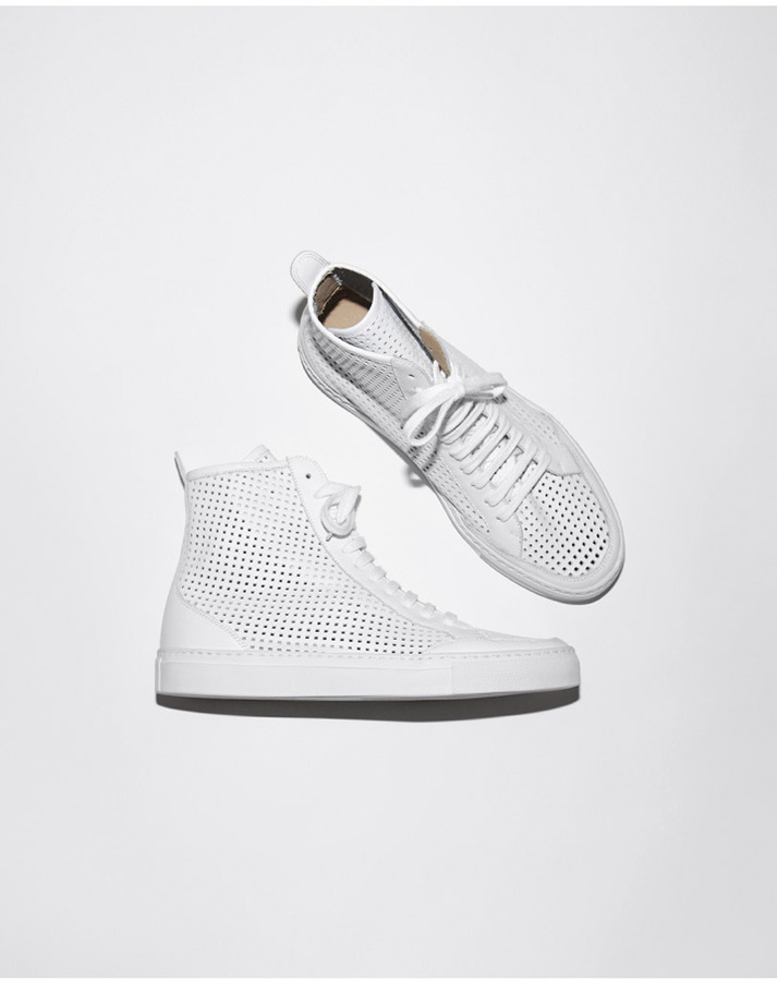 Maison Martin Margiela perforated hi-top